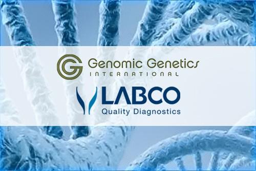 Unión de Labco y Genomic Genetics International