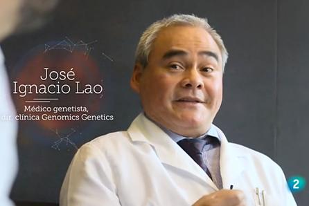 Dr. José Ignacio Lao en el programa - El cazador de cerebros de televisión española.